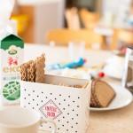 Bild från frukostbordet